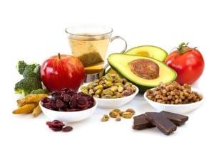 Antioxidant food anti-ageing