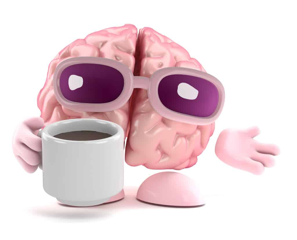 Brain enjoys a cup of tea